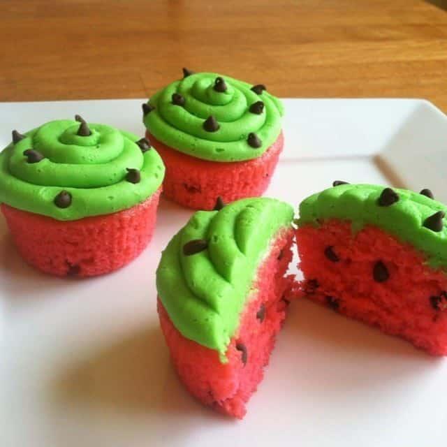 cupcake-melancia