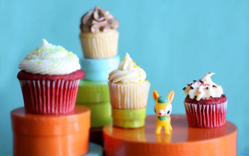 5 papéis de parede de cupcakes 2