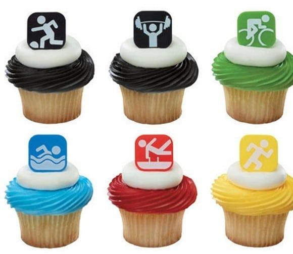 Cupcakes para as Olimpíadas Londres 2012 2