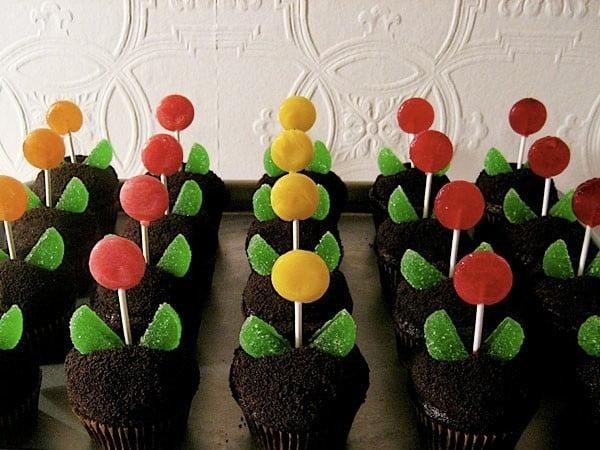 Um jardim de cupcakes 1
