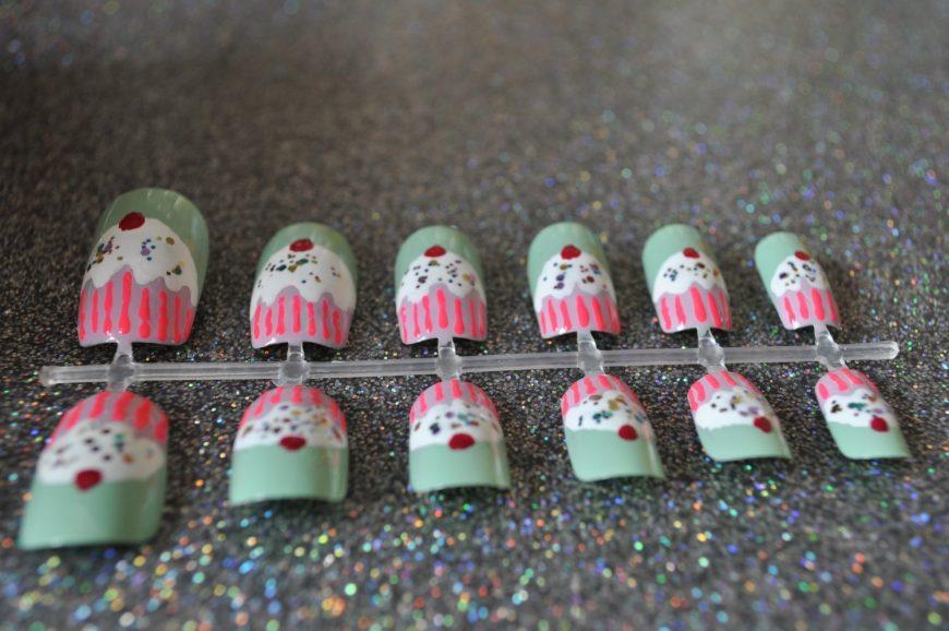 Unhas de cupcakes 3