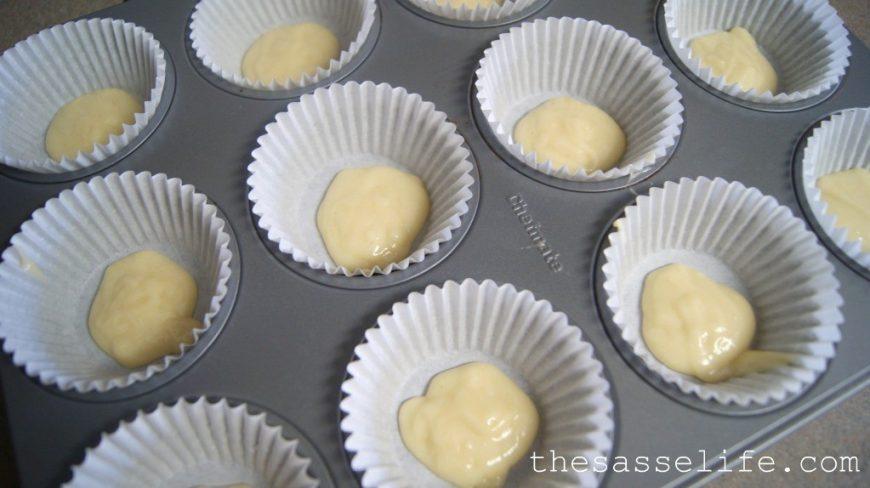 Cupcakes de zebrinha (massa, cobertura e forminha) 3