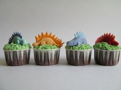 Cupcakes de dinossauros 1
