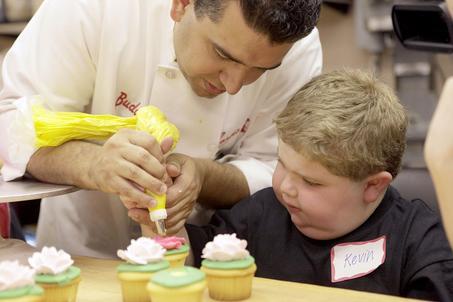 Cupcake de baunilha do Buddy Valastro (Cake Boss) 1