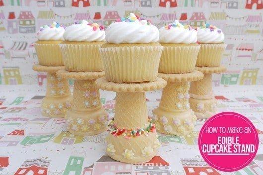 Suporte comestível para cupcakes 1