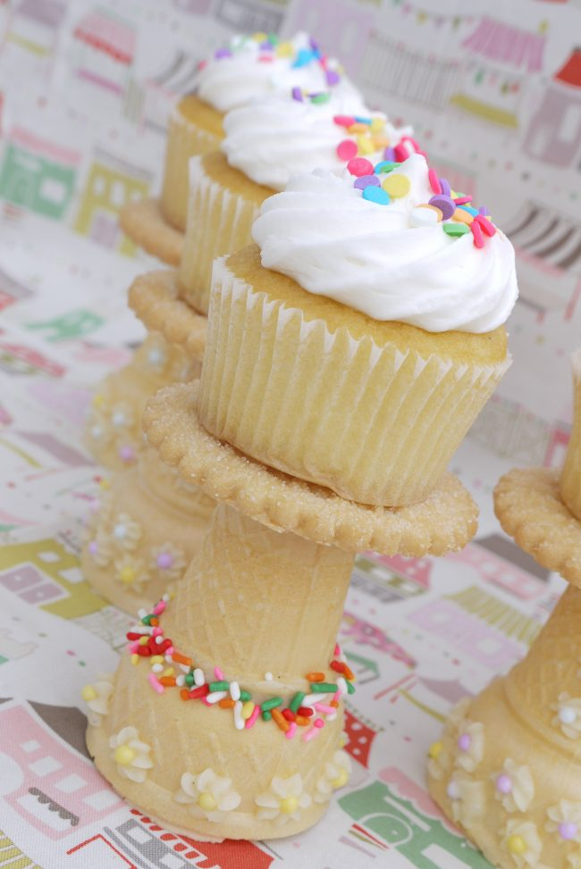 Suporte comestível para cupcakes 2