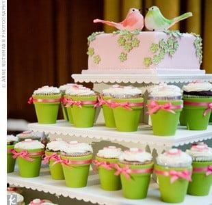 Mini-bolos e cupcakes
