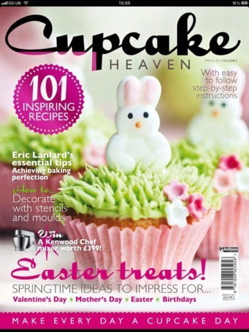 Cupcake Heaven - Revista de Cupcakes para iPad e iPhone