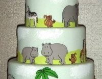 cricut-cake-animals