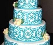 cricut-cake-wedding