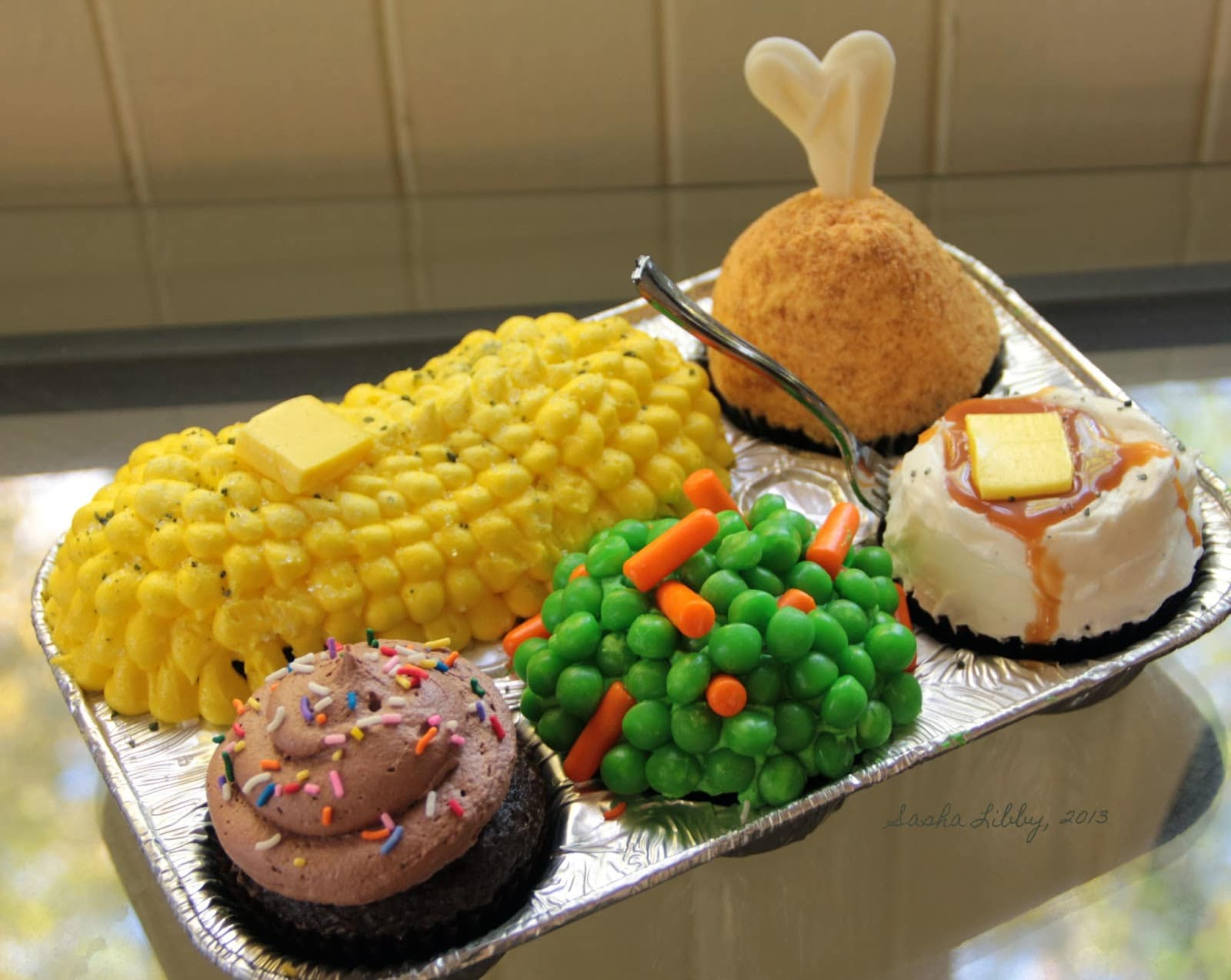Cupcakes para o jantar
