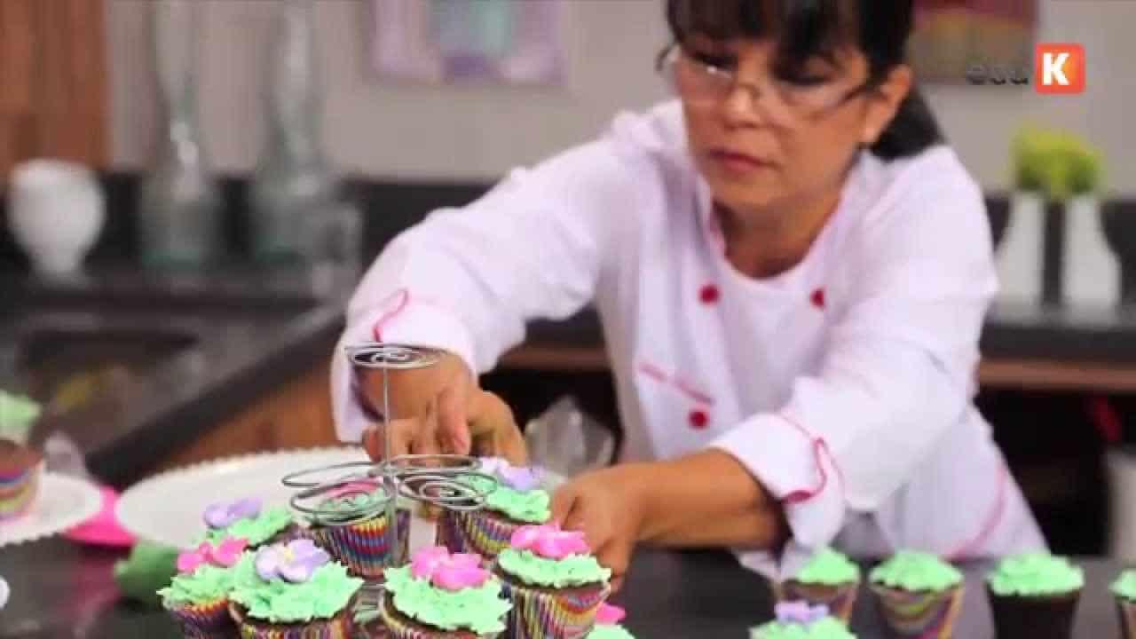 Curso gratuito de cupcakes decorados