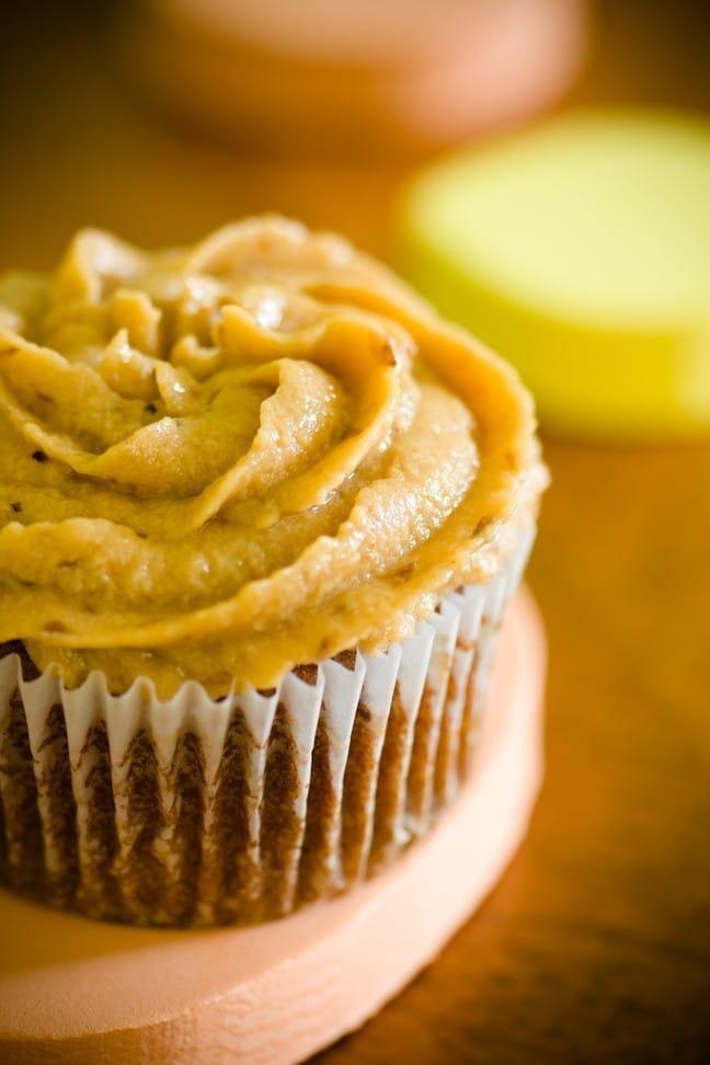 Cupcakes de caqui
