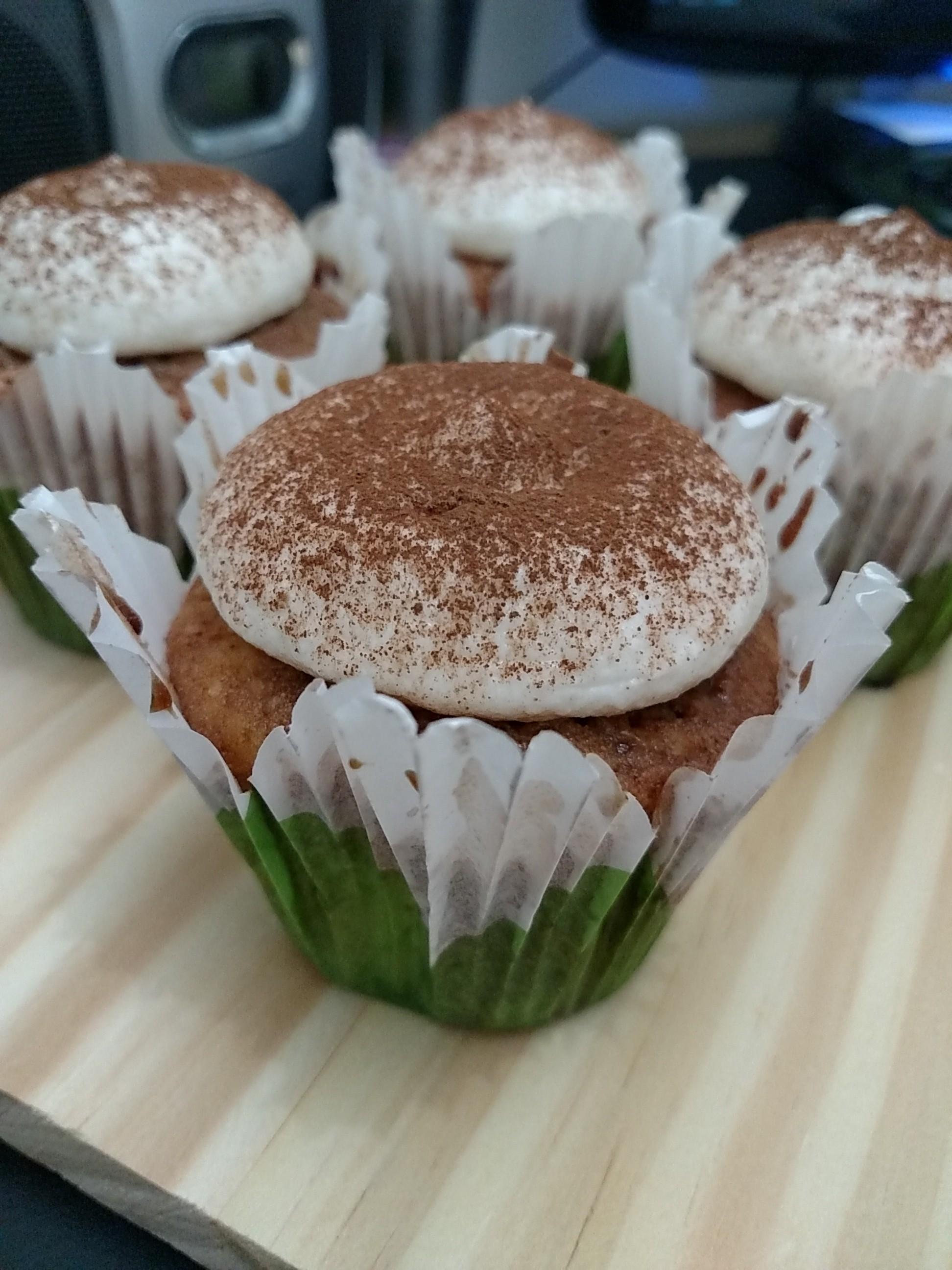 Cupcakes de tiramisu (e 30 dias sem açúcar)