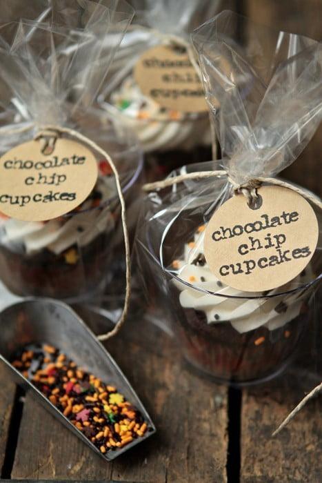 Como embalar cupcakes para decoração ou presente 1