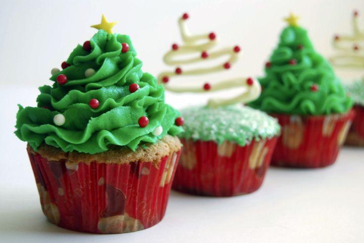 3 ideias simples para cupcakes de natal