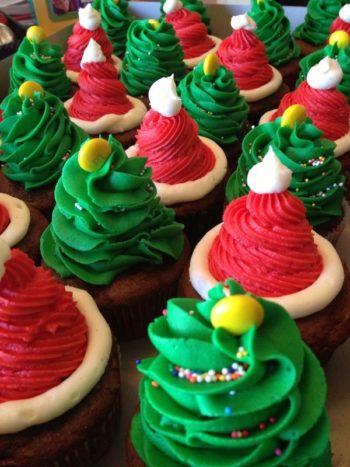 3 ideias simples para cupcakes de natal 1
