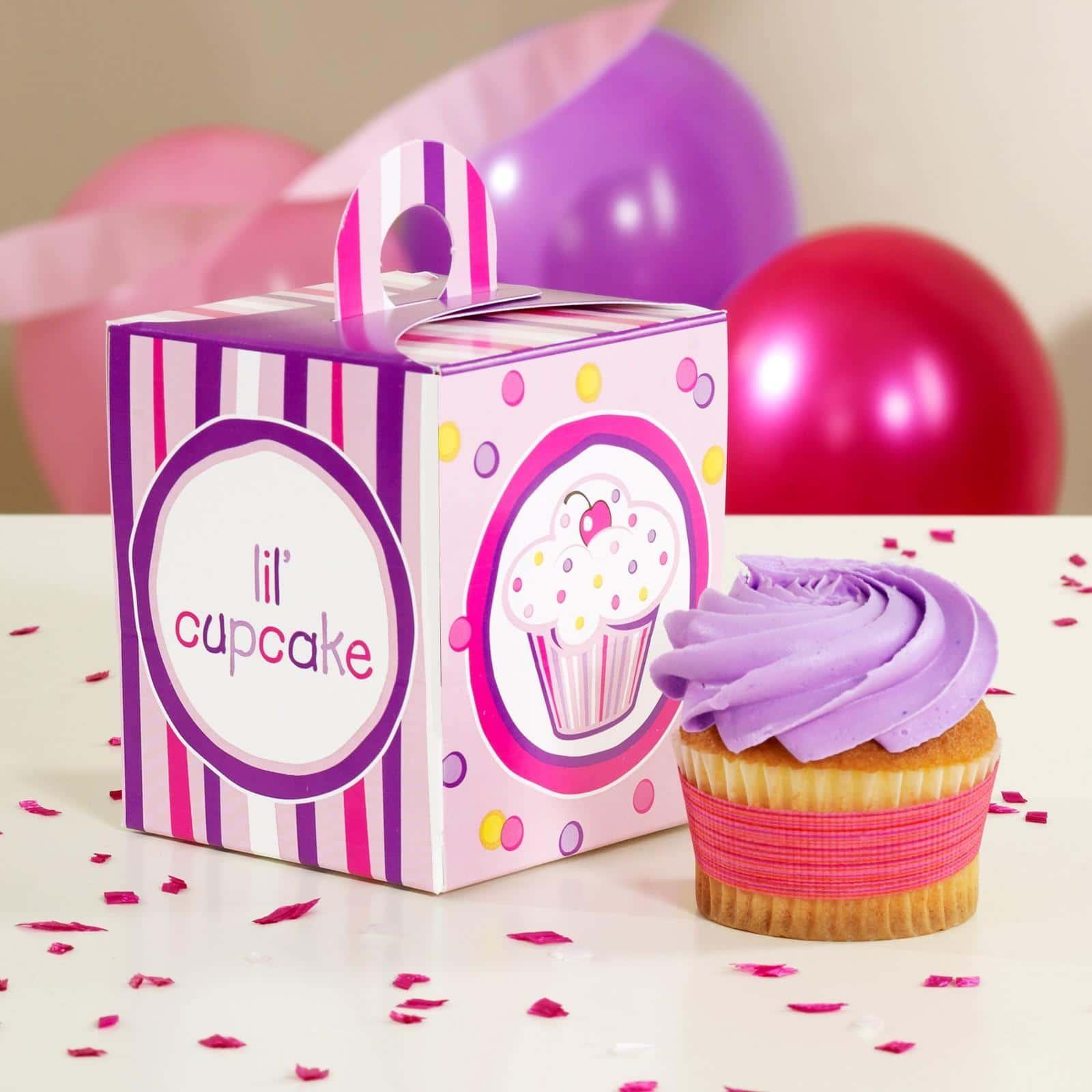 Caixas de cupcakes