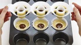Cupcakes com massa de dois sabores 6