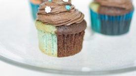 Cupcakes com massa de dois sabores 3