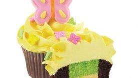 Cupcakes com massa de dois sabores 8