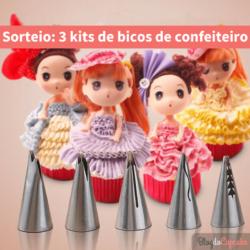 Sorteio: 3 kits de bicos especiais