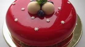 Os bolos espelhados da Olga Noskova 5