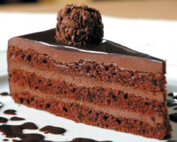 Bolo de chocolate trufado 7