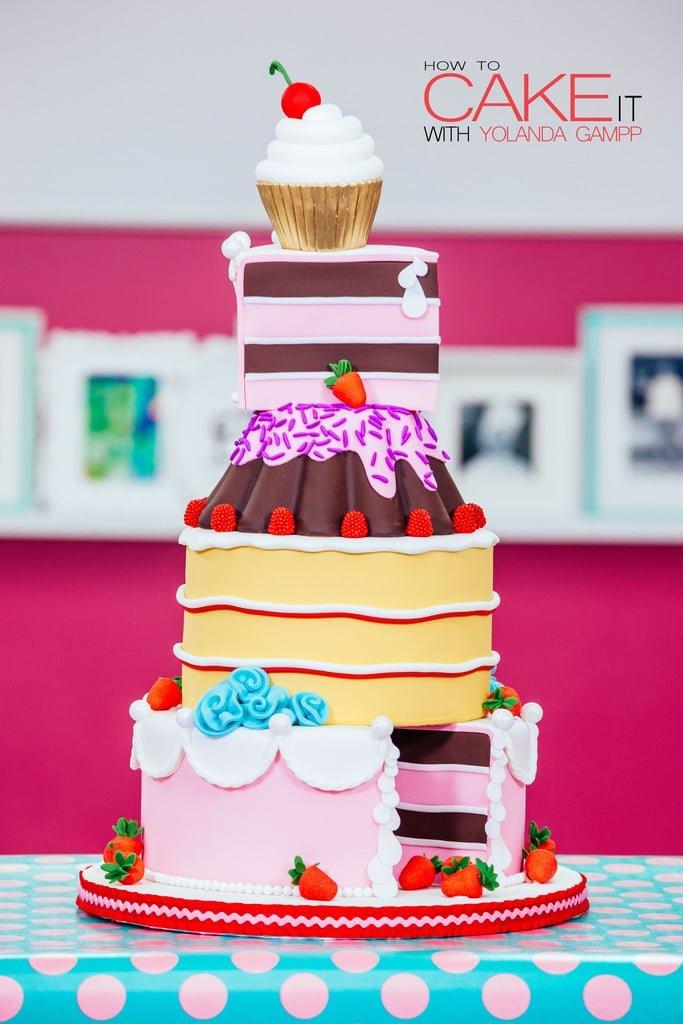 Yolanda Gampp transforma tudo em bolo (e ensina como) 1