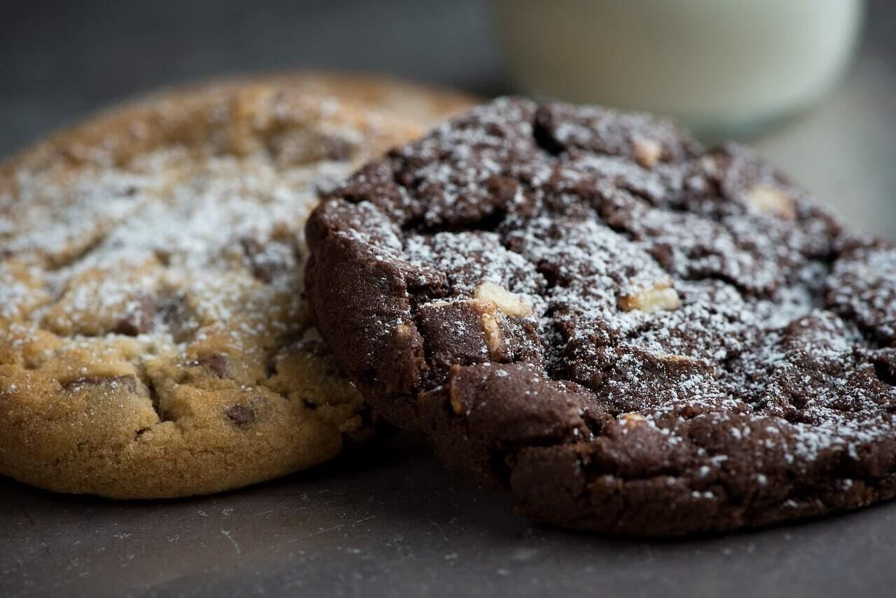 Cookies de qualquer sabor com mistura para bolo 1