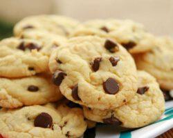 Cookies de qualquer sabor com mistura para bolo 4