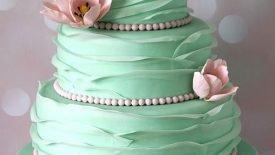 Bolos com babados (Ruffle cakes) 13