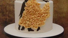 Bolos com babados (Ruffle cakes) 14