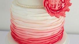 Bolos com babados (Ruffle cakes) 16