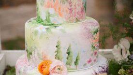 Flores, aquarela, galáxia, guirlanda, suculentas e tall cakes 18