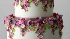 Flores, aquarela, galáxia, guirlanda, suculentas e tall cakes 3