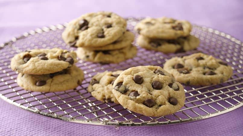 Cookie com gotas de chocolate vegano (sem leite ou manteiga) 1