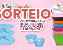 Sorteio: 3 kits de material para cupcakes da Ultrafest 5