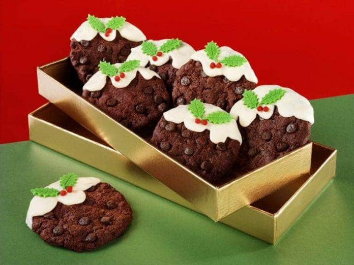 Cookies de chocolate para o Natal 2