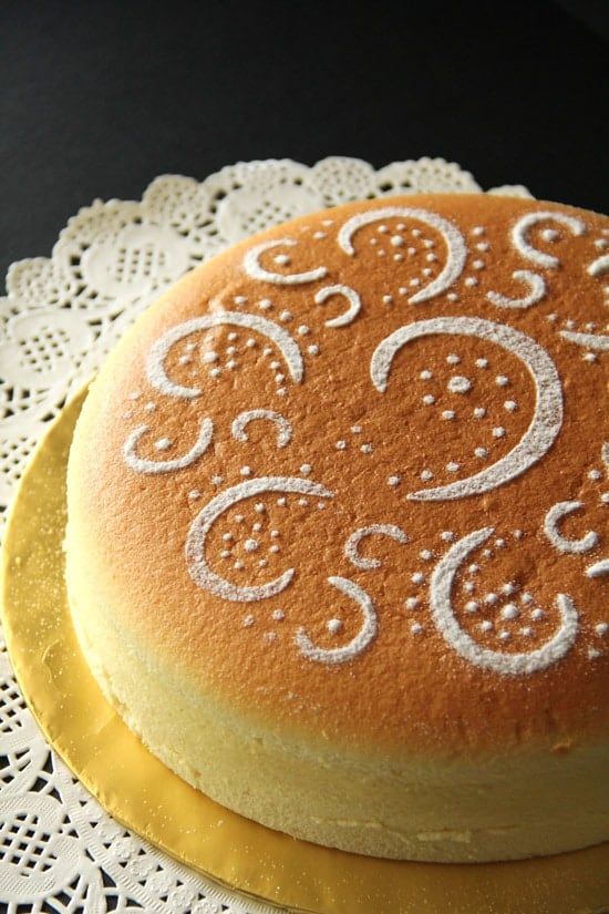 Cheesecake japonês 1