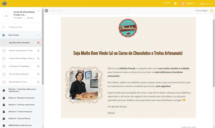 Assista a um módulo grátis no curso de chocolates e trufas 2
