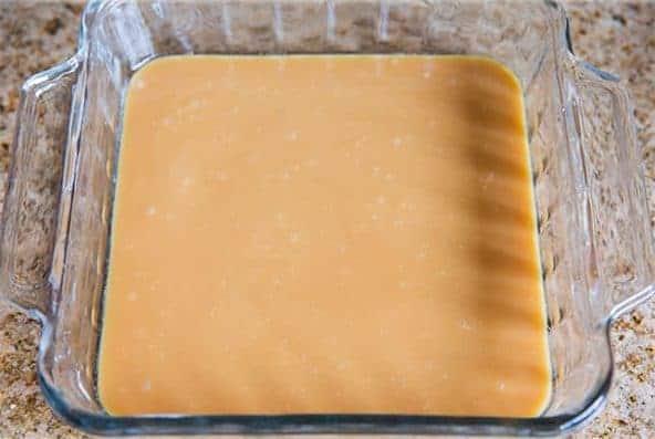 Caramelo tipo toffee de microondas 2