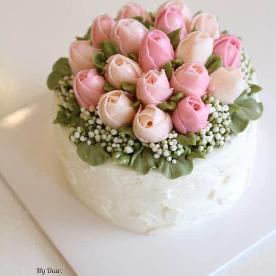 Flower cakes 15