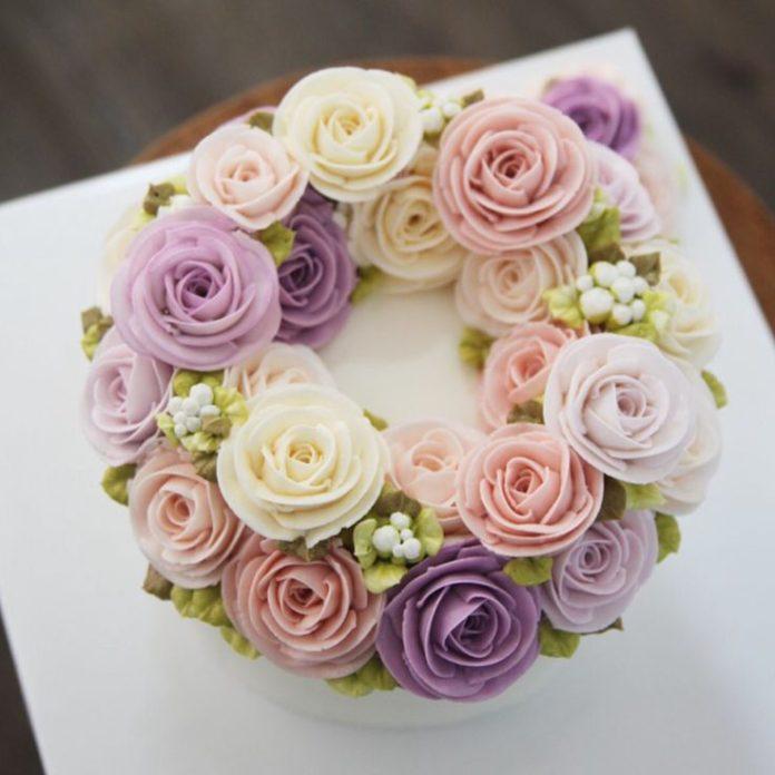 Flower cakes 12