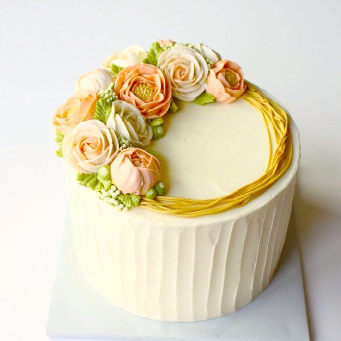 Flower cakes 11