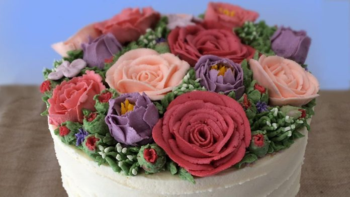 Flower cakes 10