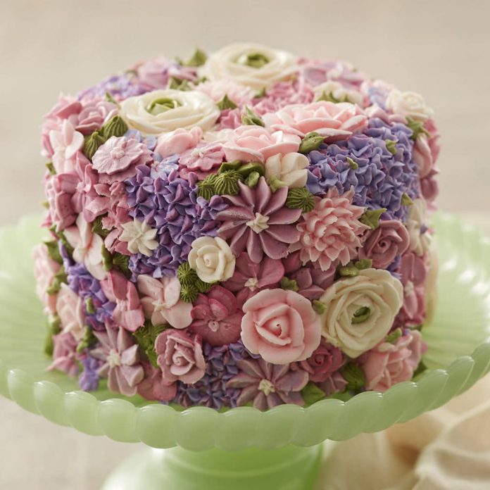 Flower cakes 7