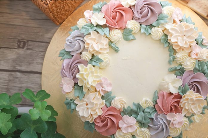 Flower cakes 4