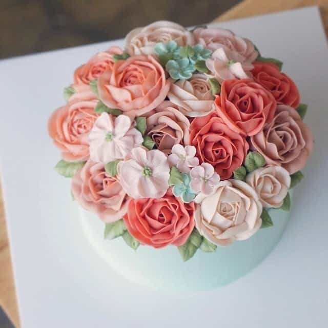 Flower cakes 2