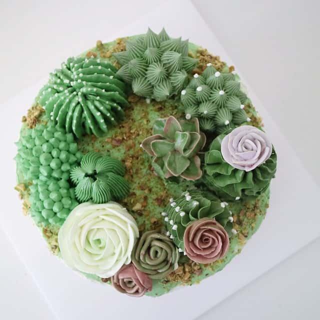 Flower cakes 22